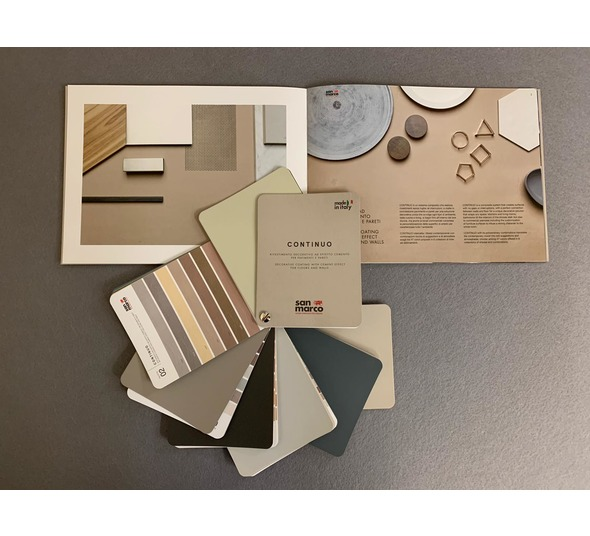 Continuo Colour Swatch and Catalogue