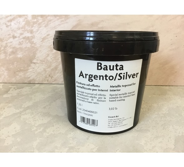 Coverit Silver Metallic Wax